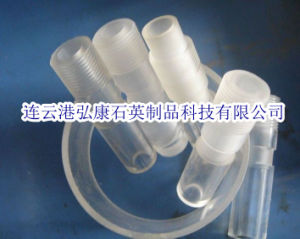 Clear Quartz Tube Male Screw Joint pictures & photos