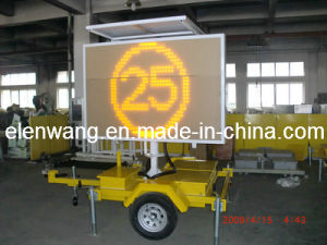 Vms Trailer with LED Sign Amber Color pictures & photos