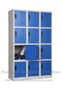 Sport Steel Locker with 12 Doors pictures & photos