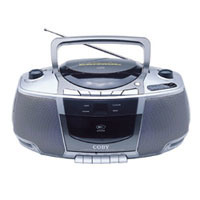 Portable CD/Radio/Stereo Cassette Player/Recorder (CXCD248)