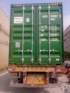 Standard Container Number Constitute