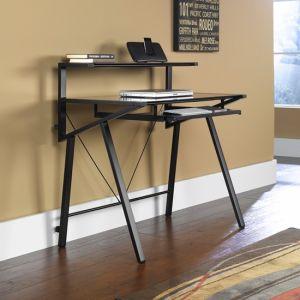 Glass Computer Desk (F12-C502)