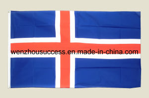 Iceland National Flag pictures & photos