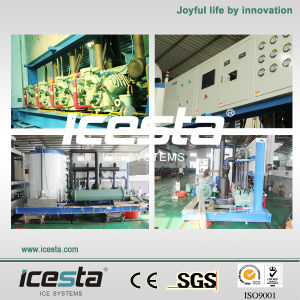 Icesta New Top Quality Flake Ice Machine (IF20T-R4W) pictures & photos