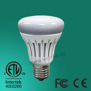 6.5W/8.5W 85V-265V High Brightness Plastic Coated E26 LED Bulb Light pictures & photos