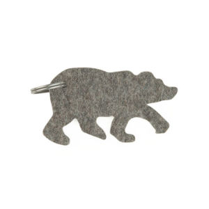 Custom Eco-Friendly Wool Felt Keychain pictures & photos