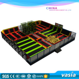 2016 Indoor Trampoline Park for Kids Zone or Play Center pictures & photos