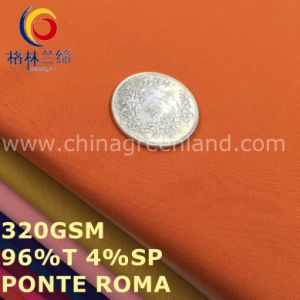 Polyester Spandex Ponte Roma Knitting Fabric for T-Shirts Pants Clothes (GLLML481) pictures & photos