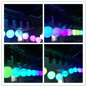 50W Magic DMX512/Master-Slave /Auto LED Ball Light Lifting Ball pictures & photos