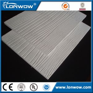 Wood Grain Cement Fiber Board Price pictures & photos