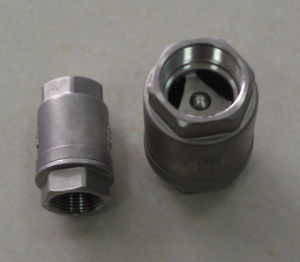 Stainless Steel Vertical Check Valve with Femal End (H42)