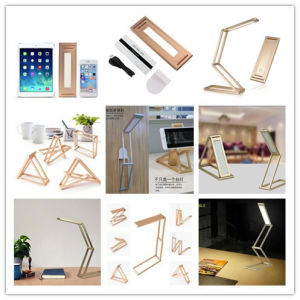 Dimmable Portable LED Desk Lamp 360 Degree Rotation DIY Folding pictures & photos