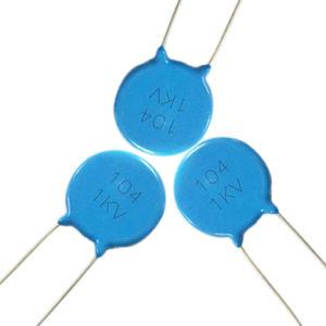 High Voltage Disc Ceramic Capacitor Safety Ceramic Disc Capacitor Tmcc20 pictures & photos