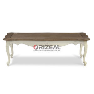 Solid Wood Oak Antique Coffee Table for Home Furniture pictures & photos
