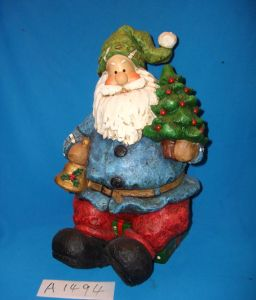 Holiday Tree with Santa and Gifts for Christmas Decoration pictures & photos