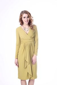 Lady Dress Long Sleeve Gentle Women Dress pictures & photos