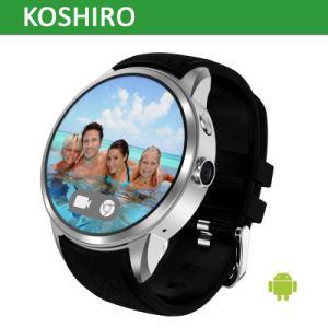 Android Smart Watch Mobile Phone with 3G WiFi Heart Rate pictures & photos