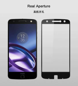 Wholesale Bulk High Safety Shatterproof Toughened Glass Screen Protector for Motorola Z pictures & photos