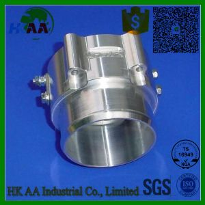 5-Axis CNC Precision Turning Milling Billet Aluminum Throttle Air Valve Grid Heater pictures & photos