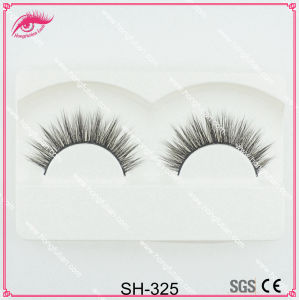 Hand Made Strip Artificial Mink Eyelash with High Quality pictures & photos