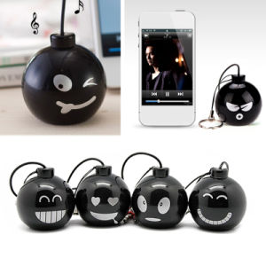Audio Dock 3.5mm Jack Stereo Bomb Mini Speaker for Phone pictures & photos