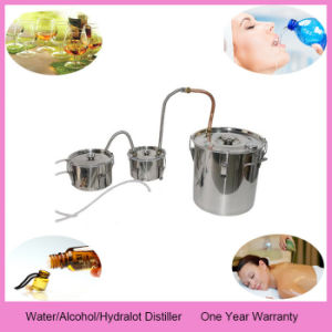 Double Distilled Water Unit Home Alcohol Essential Oil Distillation Equipment pictures & photos