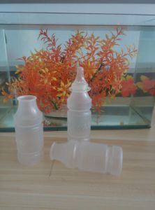 Disposable Plastic Bottle for Feeding Baby pictures & photos