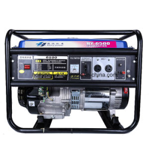 5.5kw Portable Gasoline Generator Electric Start Engine pictures & photos