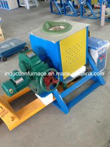500kg Tilting Furnace Electromagnetic Induction Heating Aluminum Melting Furnace pictures & photos