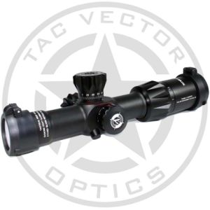 Vector Optics Templar 1-4X24 Compact Cqb First Focal Plane Riflescope with Long Eye Relief 30mm Monotube Side Green Red Illumination pictures & photos