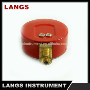 026 Red Auto Parts Steel Case Propane Gas Pressure Gauge pictures & photos