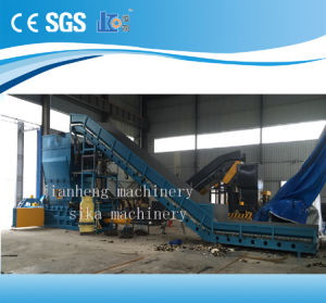 Hba120-11075 Automatic Horizontal Baler for Carboard Baling Pressing Machine pictures & photos
