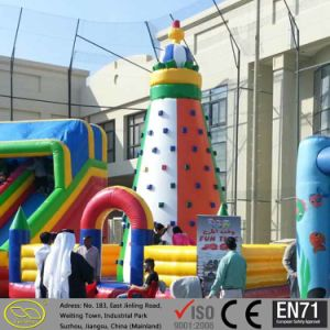 Hot Sale Inflatable Rock Climbing for Challenge