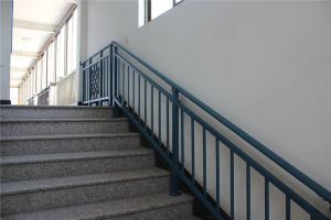 Haohan Customized Elegant European Australian Galvanized Steel Stair Handrail 7 pictures & photos