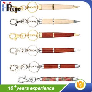 Handmade Clip Wooden Ball Pen pictures & photos