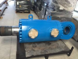 High Performance Flange Hydraulic Cylinder for Concrete Machine pictures & photos