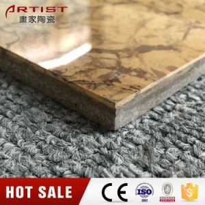 Cheap Chinese Tile Pulati Gold Polished Porcelain Tile pictures & photos