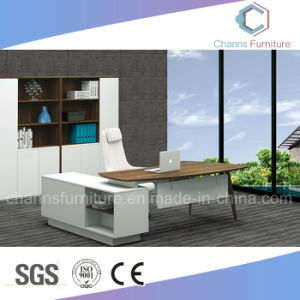 Modern White Wooden Manager Room Office Table pictures & photos