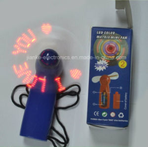 Mini NFC Programmble LED Message Fans with CD and USB Line (3509) pictures & photos