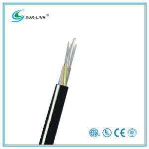 24 Fibers Black Stranded Loose Tube Non-Armored Fiber Cable (Non-metallic Strengthe) pictures & photos
