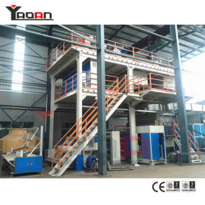 Single Beam S PP Spunbonded Nonwoven Fabric Extruder Extrusion Machine pictures & photos