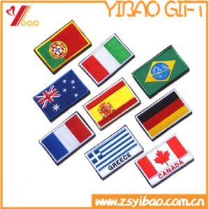 Promotiom Flag Patch, Embroidery Badge, Woven Label, Garment Accessories (YB-EMBRO-414) pictures & photos