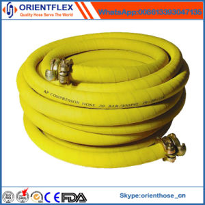 China Flexible Rubber Compressed Air Hose Manufacture pictures & photos