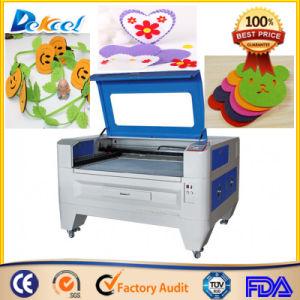 9060 Reci 100W Fabric Mini CNC CO2 Laser Cutting pictures & photos