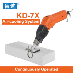 Continuously Operated Hand-Hold Hot Knife Foam Cutter
