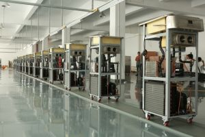 Dual System Floor Model Soft Ice Cream Machine/Large Production pictures & photos