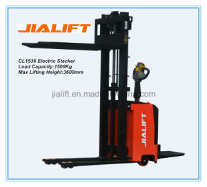 Electric Stacker CL1536 pictures & photos