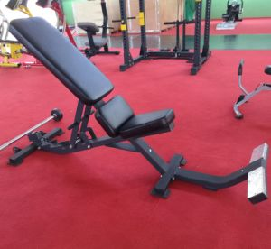 Gym Equipment Hammer Strength, Utility Bench-75 Degree (SF1-3001) pictures & photos