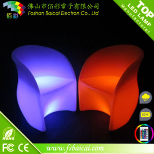 Glowing Luxurious LED Outdoor Furniture with Table and Chair pictures & photos