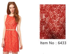 Fashion Cotton Stretch High-End Lace Fabric